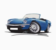 Triumph Spitfire (Mk4) Blue by Richard Yeomans