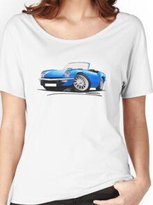 Triumph Spitfire (Mk4) Blue Women's Relaxed Fit T-Shirt