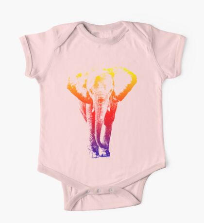Elephant colored One Piece - Short Sleeve