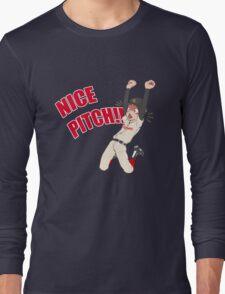 Mihashi Ren - NICE PITCH!! Long Sleeve T-Shirt