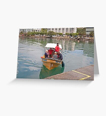 Small boat in St Lucia Greeting Card