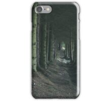 Light in the end of dark forest iPhone Case/Skin