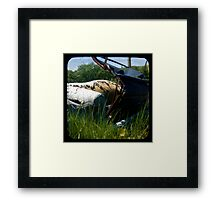 Pull Out Couch Framed Print