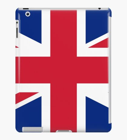 Flag of the United Kingdom iPad Case/Skin