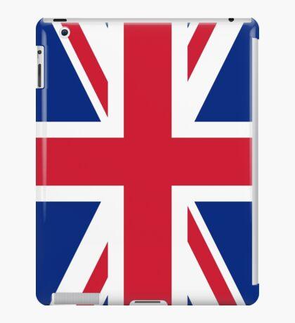 Flag of the United Kingdom Vertical iPad Case/Skin