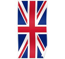 Flag of the United Kingdom Vertical Poster