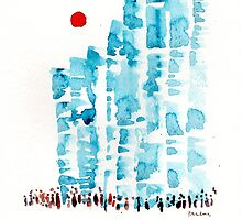 Sunny Blocks by Paulusart