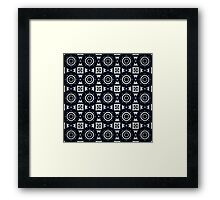 Random Kaleidoscopic Art Framed Print