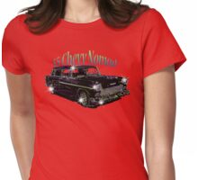 55' Chevy Nomad Womens Fitted T-Shirt