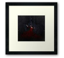 From a dark realm  Framed Print