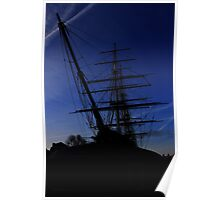 Cutty Sark Greenwich at Dawn Poster