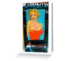 godless america Greeting Card