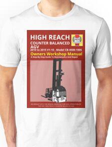 Workshop Manual - High Reach AGV BW Unisex T-Shirt