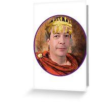 Emperor Nigel Farage Greeting Card