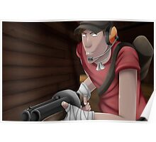 Red Scout Poster