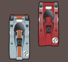 Slot Cars II by geekchic  tees