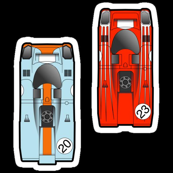 Slot Cars II by geekchic  tees