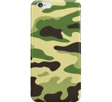 Camouflage green iPhone Case/Skin