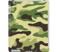 Camouflage green iPad Case/Skin