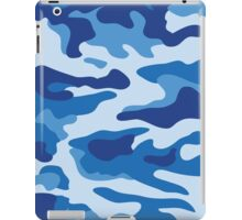 Camouflage Blue iPad Case/Skin