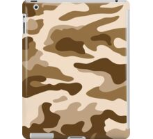 Camouflage Brown iPad Case/Skin