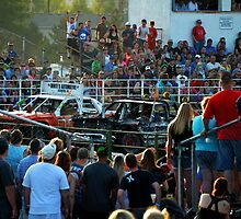 Demolition Derby at the County Fair by Catherine Sherman