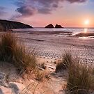 Cornwall - Holywell Bay by Michael Breitung
