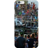 Demolition Derby at the County Fair iPhone Case/Skin