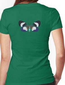 Lucky Moth Womens Fitted T-Shirt