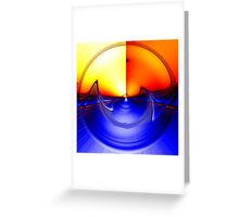 sub sonic waves Greeting Card