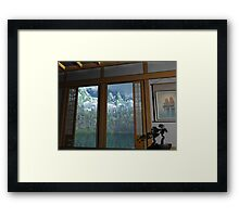 Home View Framed Print