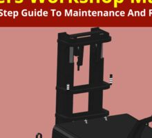 Workshop Manual - Large Dual Tine CB AGV - BW Sticker