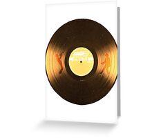 Uptown Funk LP Greeting Card