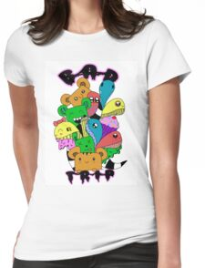 Doodling on a Bad Trip Womens Fitted T-Shirt