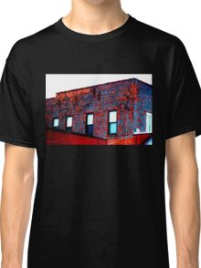 Red, White and Blue Building Classic T-Shirt