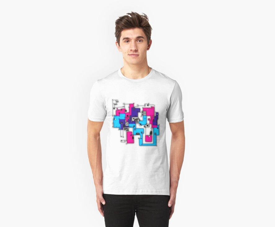 faces neon by John Le Gros- huH? Clothing