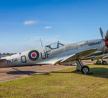 Supermarine Spitfire LF.IXc MK356/UF-Q by Colin Smedley