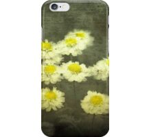 Daisies in Grunge iPhone Case/Skin