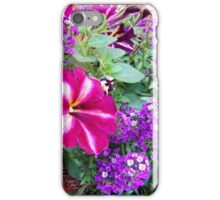 Patunia Hanging Basket iPhone Case/Skin