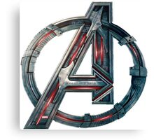 The Avengers-Age of Ultron Logo Canvas Print