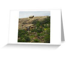 Enchanted Rock, Texas Greeting Card