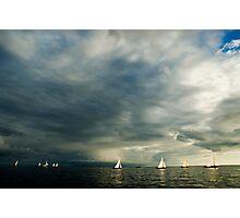 Sailing boats Photographic Print