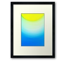 SUNNY DAY - Abstract Graphic Iphone Case Framed Print