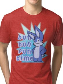 Bun Bun Fun Time! Tri-blend T-Shirt