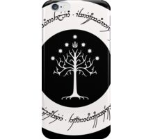 One ring to rule them all! iPhone Case/Skin