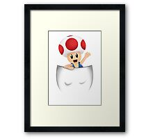 Pocket Toad Framed Print