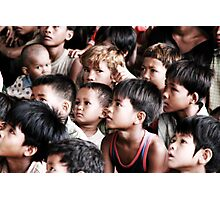 Khmer Kids Photographic Print