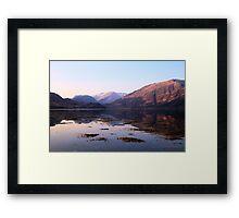 Loch Duich Sunrise Framed Print
