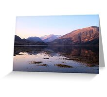 Loch Duich Sunrise Greeting Card