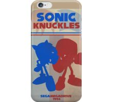 Megadrive - Sonic and Knuckles iPhone Case/Skin